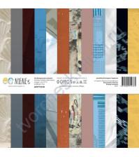Набор двусторонней бумаги для скрапбукинга ФОНОteka II, размер 30.5х30.5 см, плотность 190 г/м, 6 листов