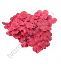 Лепестки гортензии большие 5 см, 10 шт, цвет красный