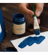 Краска акриловая Tury Design Di-7 на водной основе, флакон 60 гр, цвет Темно-синий