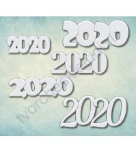Форма силиконовая (молд) набор 2020-3, 5 элементов
