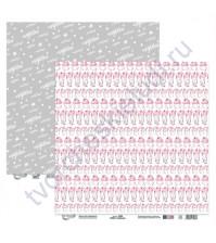 Бумага для скрапбукинга двусторонняя коллекция #Моёмоё, 30.5х30.5 см, 190 гр/м, лист 5