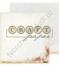 Бумага для скрапбукинга двусторонняя 30.5х30.5 см, 190 гр/м, коллекция Лесная сказка, лист Традиции