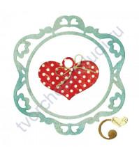 Нож для вырубки Ornamental Love, 3 элемента