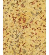 Ткань для лоскутного шитья, Клематис, 25х55 см