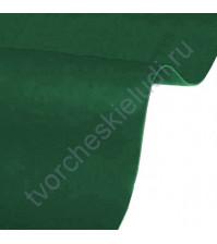 Кожзам переплетный на полиуретановой основе плотность 230 гр/м2, 50х35 см, цвет 4727-темно-зеленый