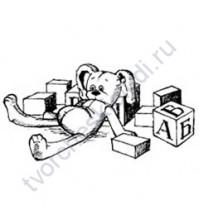 ФП печать (штамп) Кубики, 6.5х3.5см