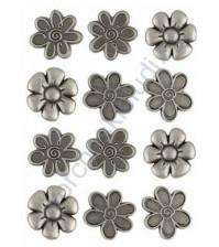 Набор декоративных элементов Flower, 12 элементов