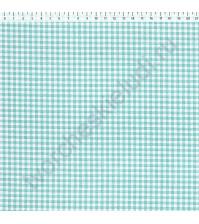 Ткань для рукоделия 100% хлопок, плотность 120г/м2, размер 70х50см (+/- 2см), коллекция Клетка, дизайн 1, цвет 3