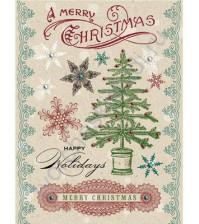 Набор натирок Christmas Cheer, размер листа 11х15 см
