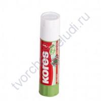 Клей-карандаш Kores Transparent Glue, 21 гр, прозрачный