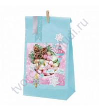 Набор для декорирования подарочного пакета Счастья в Новом году, 28х16х8 см