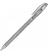 Ручка гелевая 0.7 мм, цвет серебро