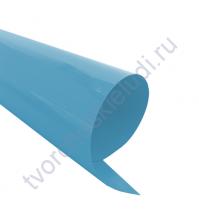 Термотрансферная пленка, цвет зимний василёк, матовый, 25х25см, SC101019