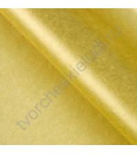 Бумага тишью, цвет золото, размер 50х66 см