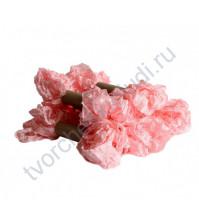 Шебби-лента мятая, детский розовый, ширина 14 мм, 1 метр