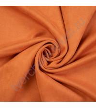 Искусственная замша Suede, плотность 230 г/м2, размер 50х70см (+/- 2см), цвет абрикосовое варенье