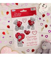 Набор декоративных наклеек Me To You Моя любовь, размер блистера 11х16 см