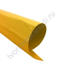 Термотрансферная пленка, цвет сусальное золото, матовая, 30х30 см +/- 1см)
