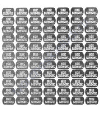 Набор металлического декора для шейкера Be Mine, 4х6 мм, 140 шт