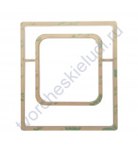 Шейкер Рамка для фото, 90х80 мм, толщ. 3 мм, цвет прозрачный