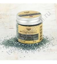 Стеклянный глиттер Art Ingredients Glass Glitter, 56 гр, цвет платина
