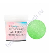 Глиттер-блестки Color Crystal Shine, 10 мл, цвет весенняя зелень
