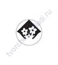 Дырокол (компостер) угловой Цветок, прим.2.5 см