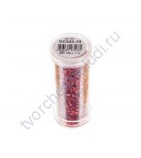 Рубка с круглым посеребренным отверстием, 20 гр, цвет 25 (красный)