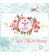 Bee Shabby KIT - BOY Story