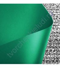 Лист гладкой дизайнерской бумаги с эффектом металлик Majestic 290 гр, формат 30х30, цвет зеленый сад