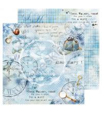 Бумага для скрапбукинга односторонняя Sherlock Holmes, 30.48х30.48 см, 190 гр/м, лист 3