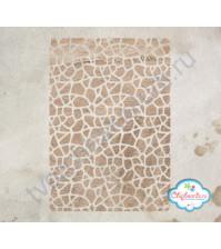 Трафарет пластиковый Яичная скорлупа, 12х18 см