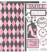 Набор вырубных элементов Smile, размер набора 30х30 см