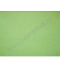 Лист бумаги для скрапбукинга с эмбоссированием (тиснением) Завитки, А4, 160 гр, цвет светло-зеленый
