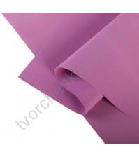 Фоамиран 1 мм, формат 25х25 см, цвет темно-сиреневый