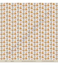 Бумага для скрапбукинга односторонняя коллекция Кулинарное искусство, 30.5х30.5 см, 190 гр/м, лист Выпечка
