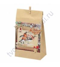 Набор для декорирования подарочного пакета Снежные истории, 28х16х8 см