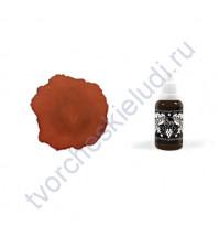 Чернила алкогольные ScrapEgo, емкость 20 мл, цвет Мулатка-шоколадка