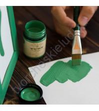 Краска акриловая Tury Design Di-7 на водной основе, флакон 60 гр, цвет Зеленый (Молодая ель)