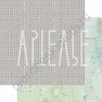 Бумага для скрапбукинга двусторонняя, коллекция ФОНОteka, 30х30 см плотность 190г/м, лист Связанные одной нитью