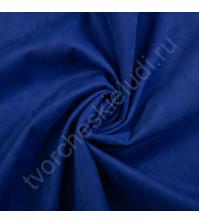 Искусственная замша Suede, плотность 230 г/м2, размер 35х50см (+/- 2см), цвет сапфир