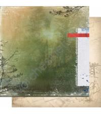 Бумага для скрапбукинга двусторонняя, коллекция Шепот, 30.3х30.3 см, 200 гр/м, лист 003
