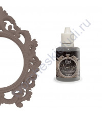 Краска с эффектом патины ScrapEgo, емкость 30 мл, цвет Шоколадный ликер