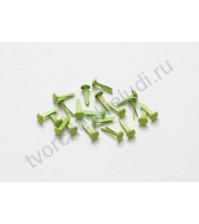 Набор брадсов 25 шт, светло-зелёные SCB340511