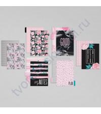 Набор картонных разделителей для планнера Цветы, размер 16х25 см, 6 шт