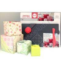 Доска для создания подарочных коробочек Gift Box Punch Board