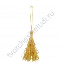 Кисточка, 8х0.5 см, цвет золото