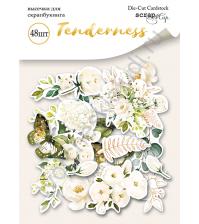 Набор высечек (вырубок) Tenderness, плотность 190 гр/м, 48 элементов