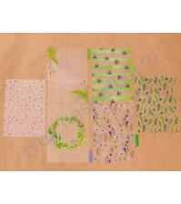 Набор ацетатных разделителей для планнера Акварель, размер 16х25 см, 6 шт