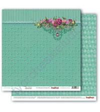 Бумага для скрапбукинга двусторонняя Драгоценности, 30.5х30.5 см, 190 гр/м, лист Подвески